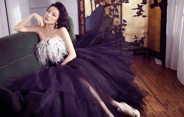 Shu Qi passionate charm