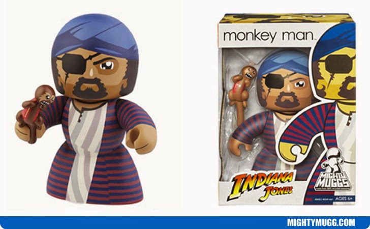 Monkey Man Indiana Jones Mighty Muggs Wave 2