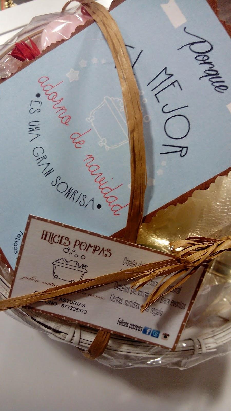 regalos navidad pompas de jabon cesta regalo candas
