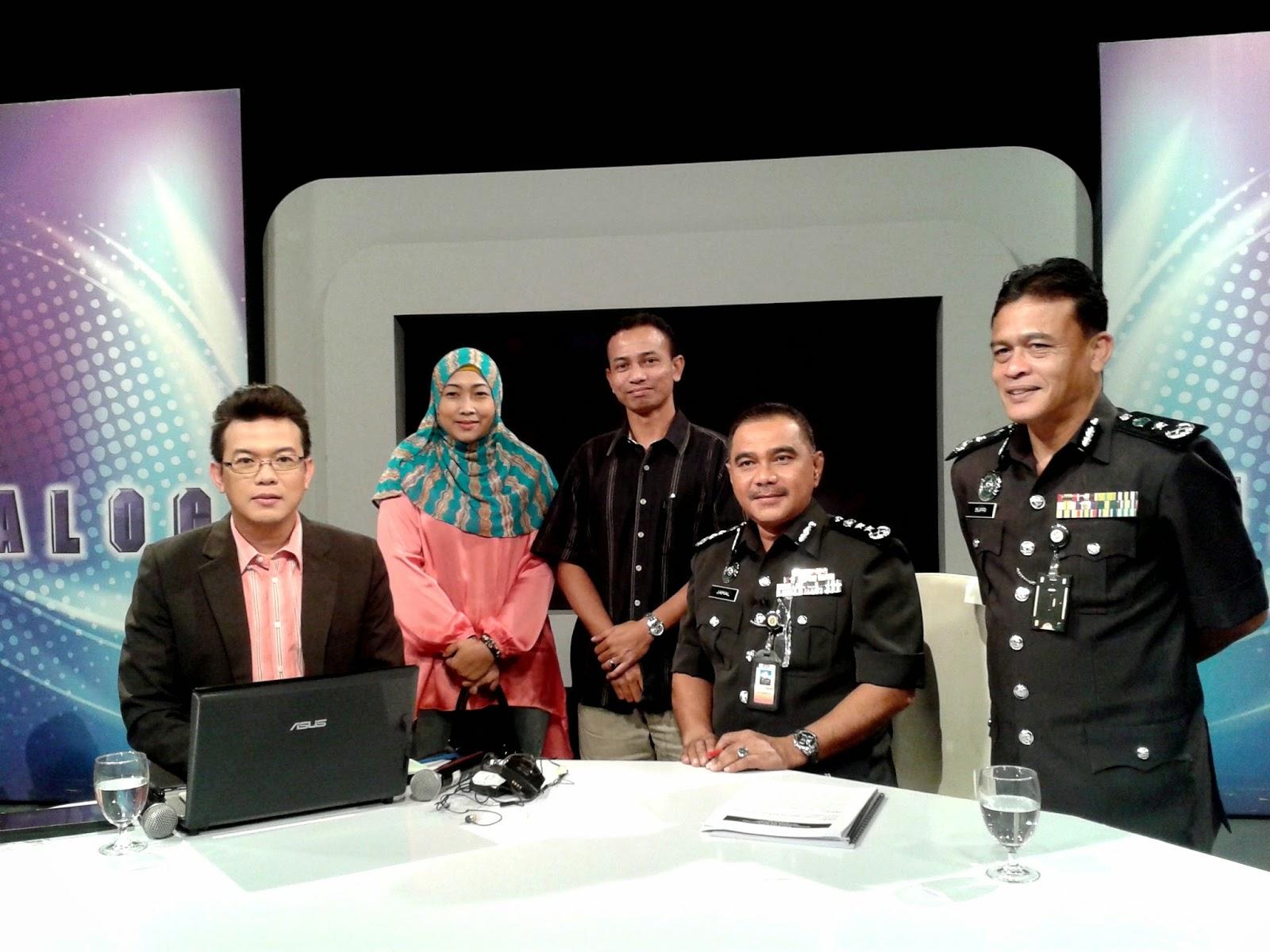 Dialog tv1 bersama bloggers