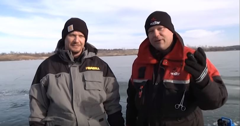 VIDEO: Rock Creek Ice Fishing