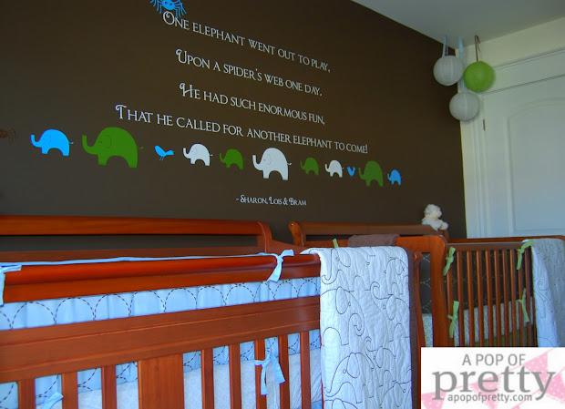 Boy Nursery Wall Decor