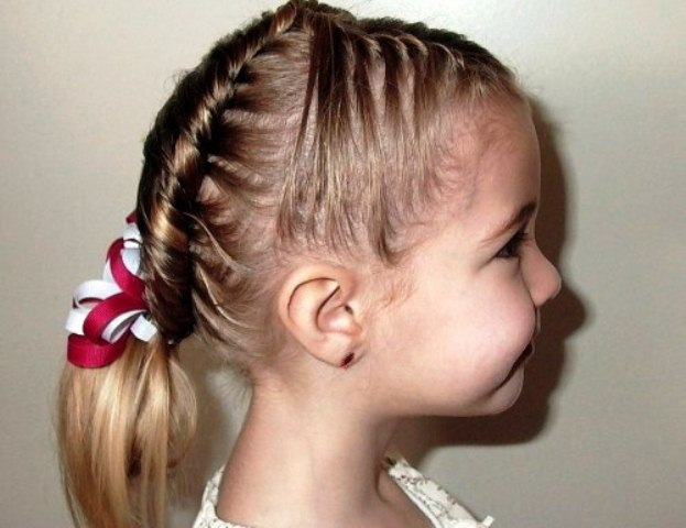 Model Rambut Kepang Cantik Dan Unik Untuk Anak Perempuan Si - Gaya rambut pendek kepang