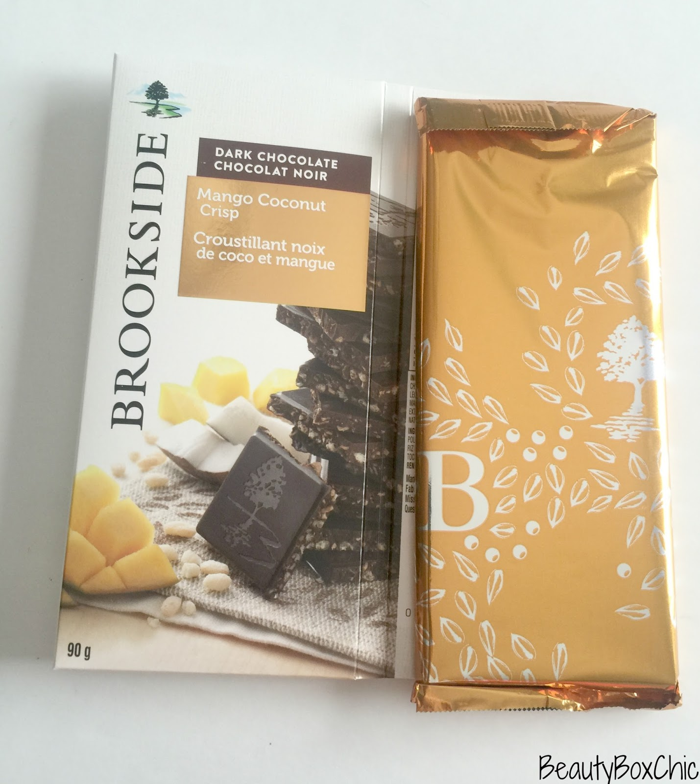 Beauty Box Chic: Brookside Chocolate Tablet Bars Review + ...