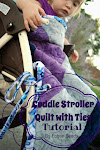 Stroller Quilt with Ties