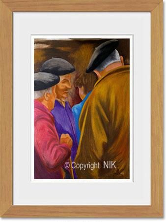 Bien connu Reproductions de peintures de NIK RJ61