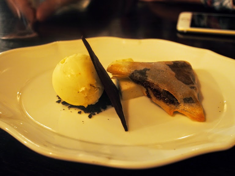 gymkhana chocolate samosa