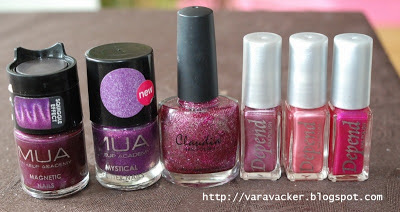 naglar, nails, nagellack, nail polish, lila, purple, claudia, depend, mua,