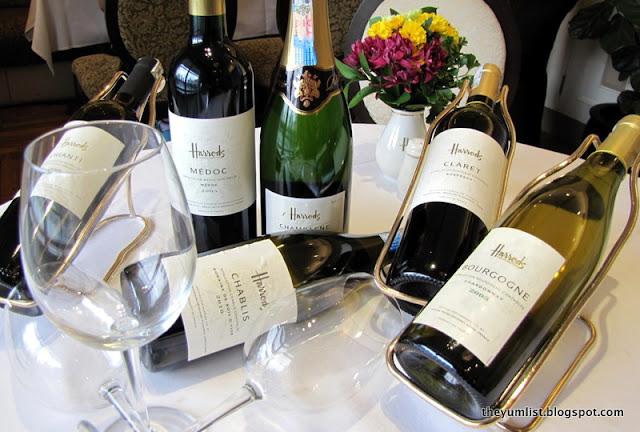 Harrod's KLCC, afternoon tea, wine range