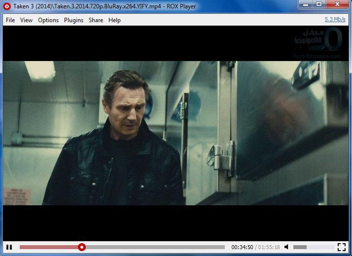 مشاهدة أفلام التورنت أوالتأكد من جودتها بشكل مباشر دون تحميلها Roxplayer direct play torrent movies