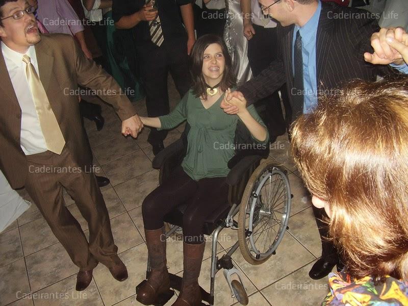 Debora Haupt no casamento