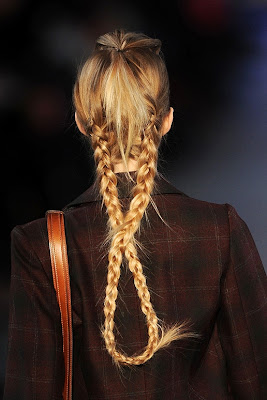 Fall/Winter 2011-2012 Hairstyle Trends-Kenzo
