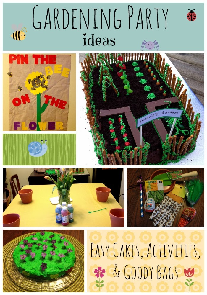 you pinspire me garden theme birthday party ideas