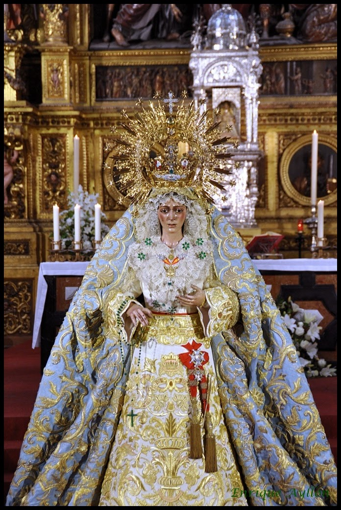 Besamanos+Esperanza+Macarena+Sagrario+50+aniversario+Coronación+mayo¡2014+Sevilla+Fotos+imágenes