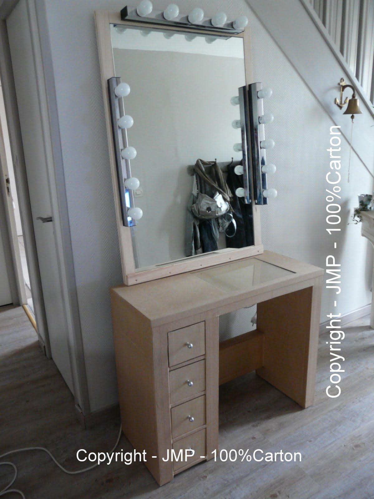 100 rton table de maquillage estelle. Black Bedroom Furniture Sets. Home Design Ideas