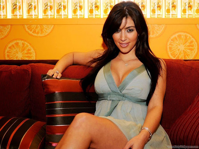 Kim Kardashian Photo Shoot HD Wallpaper