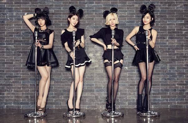 Bob Girls Jina - Danbi - Dahye - Yoojung