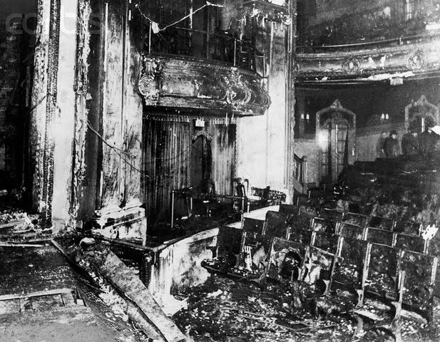 iroquis theater Iroquois theatre fire of 1903,  1903 in the newly-built iroquois theater on west randolph street in chicago the theater had only opened the prior month,.