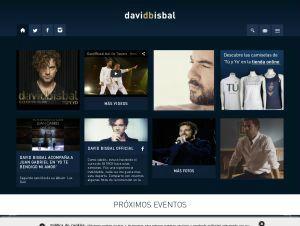 David Bisbal Web oficial