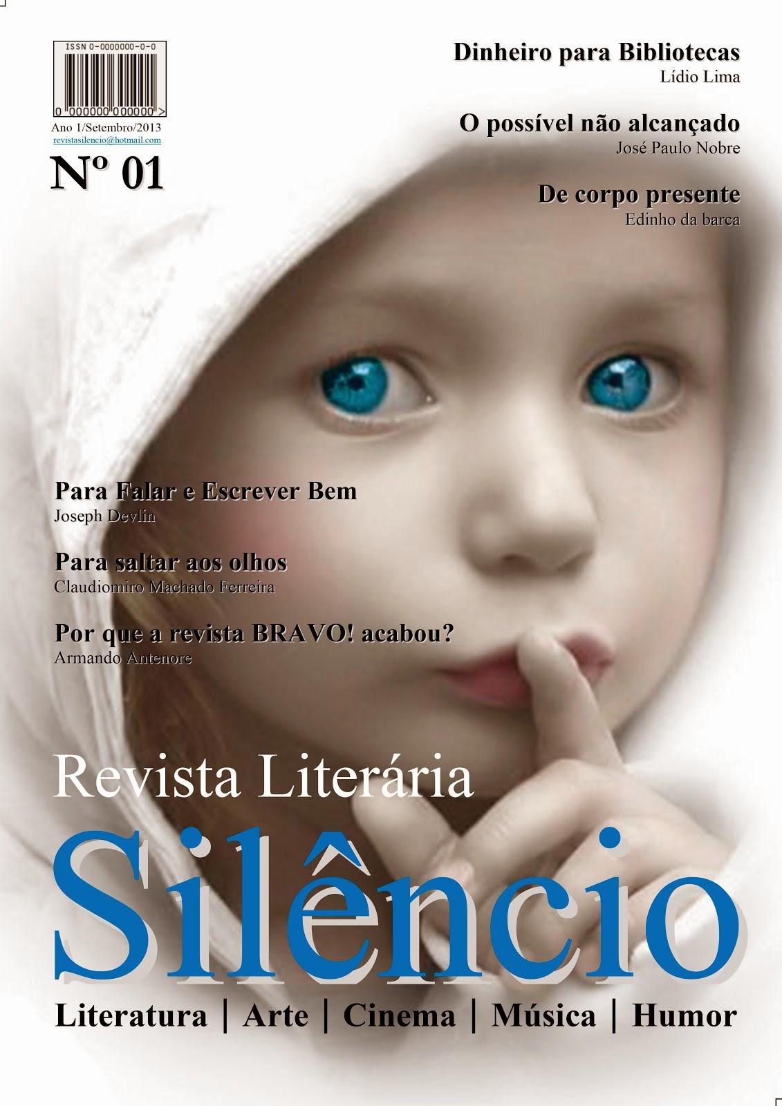Revista Literária Silêncio nº01
