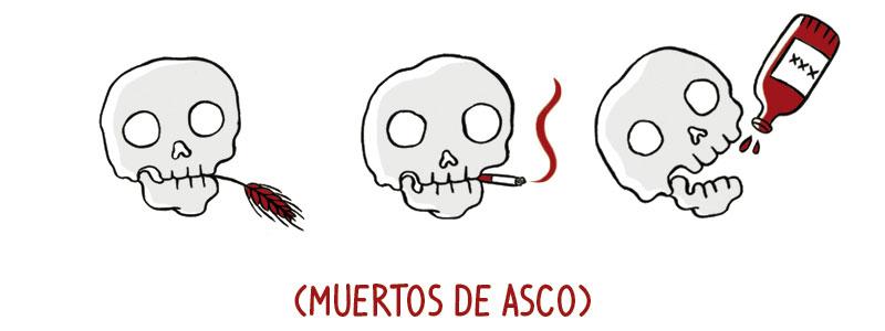 Muertos de asco