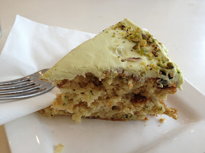 Courgette Zucchini cake at Anderson and Co