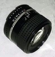 Nikon 100mm f/2.8 Series E - Front