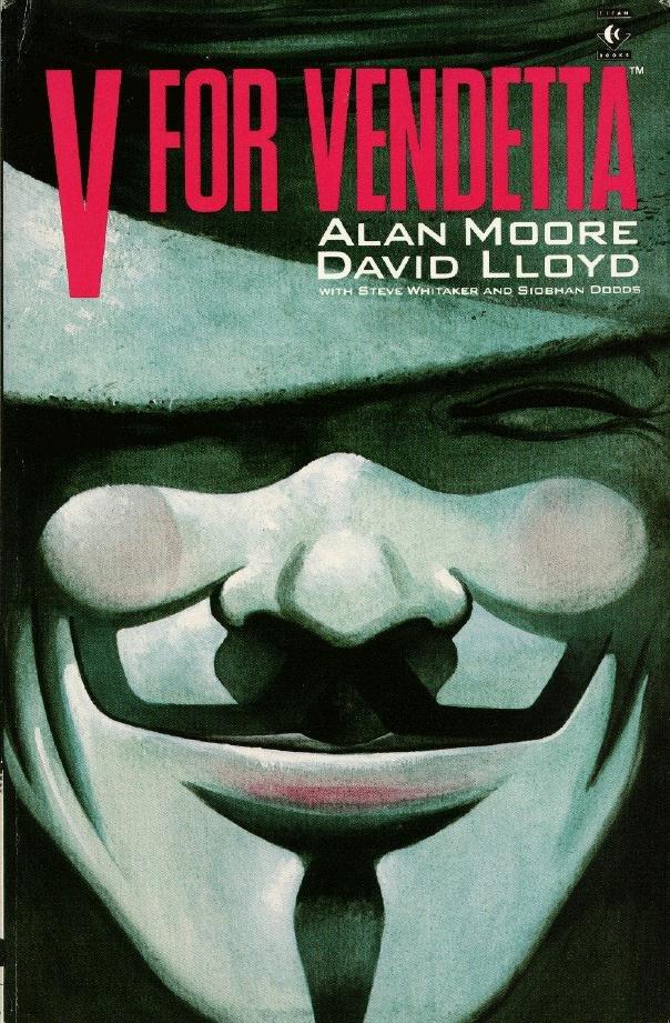 Los comics del trol V-de-vendetta