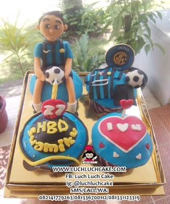 Cupcake Ulang Tahun Tema Intermilan