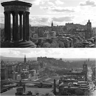 Edimburgo en blanco y negro