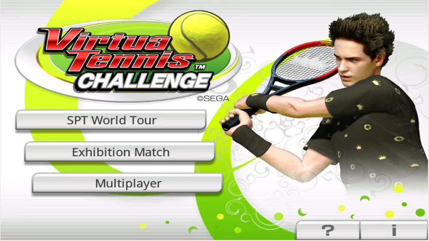 Tips and tricks on Virtua Tennis Challenge