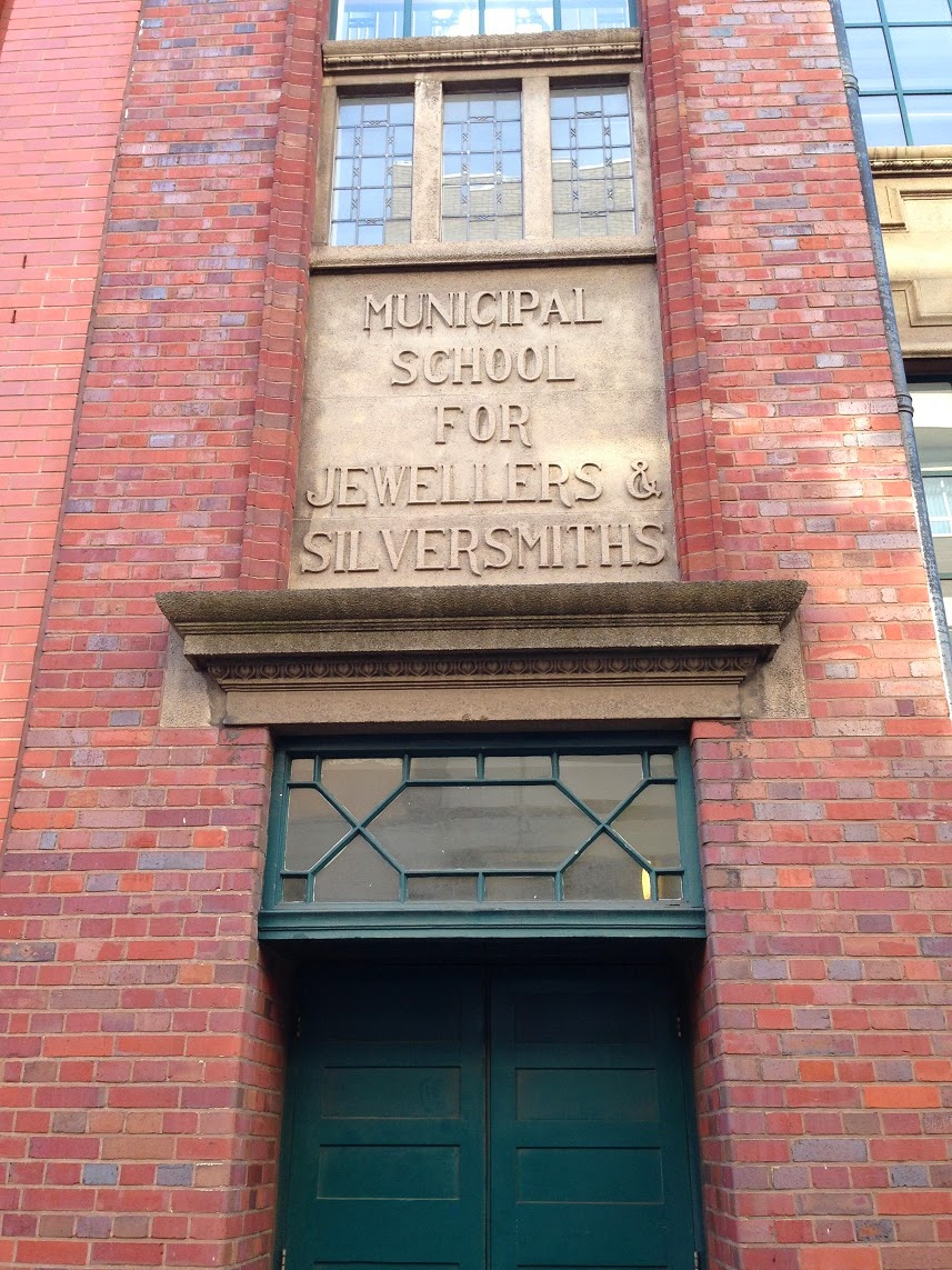 Ghost sign, Jewellery Quarter, Birmingham