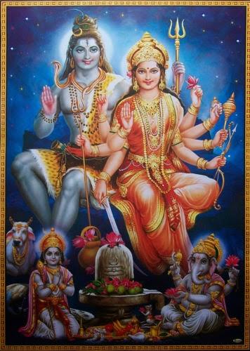Bhagwan Shiv Shankar,Parvatiji,Kartikji, Ganeshji