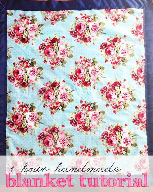 One Hour Baby Blanket Tutorial by Shan Made - TONS of baby blanket tutorials!