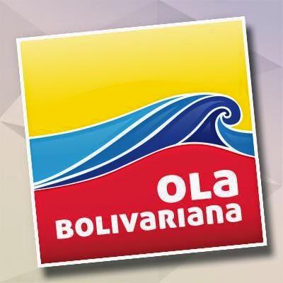 estamos con la Ola Bolivariana