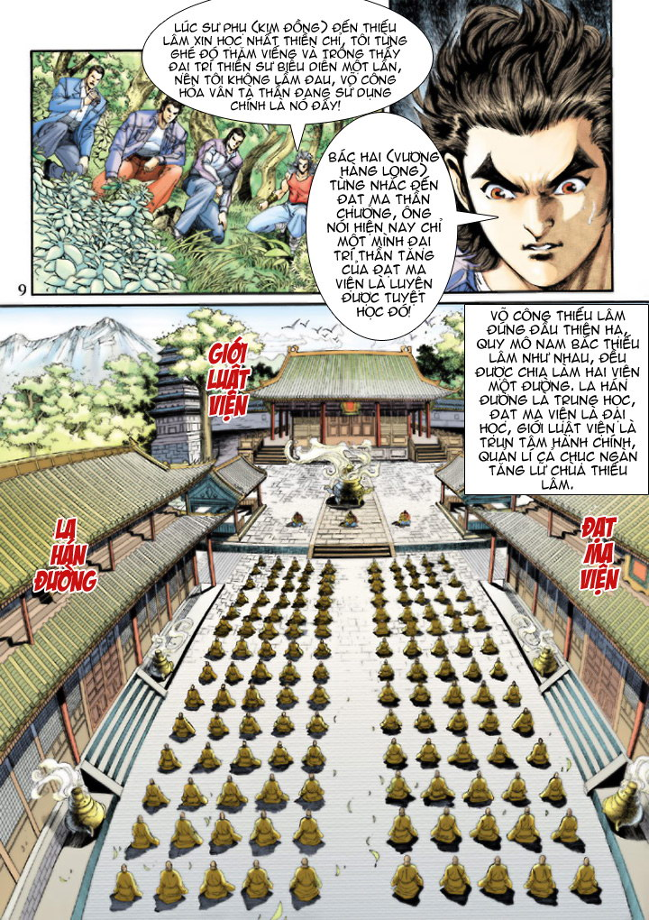 Tân Tác Long Hổ Môn chap 204 - Trang 9