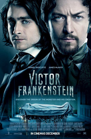 Victor Frankenstein Official Theatrical Poster
