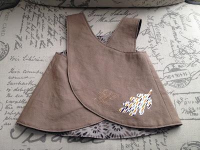 Fall baby dress