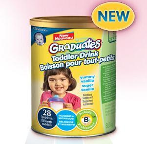 Free Gerber Graduates Toddler Drink