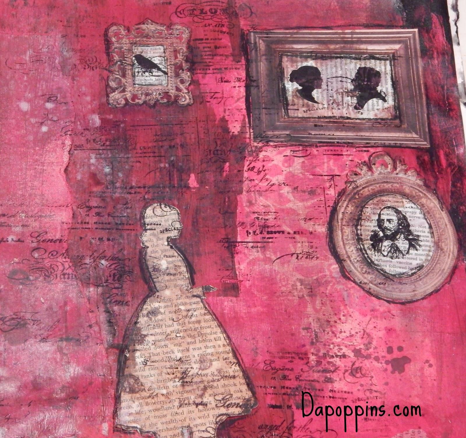 Art Journaling, Nanny, Nannylife