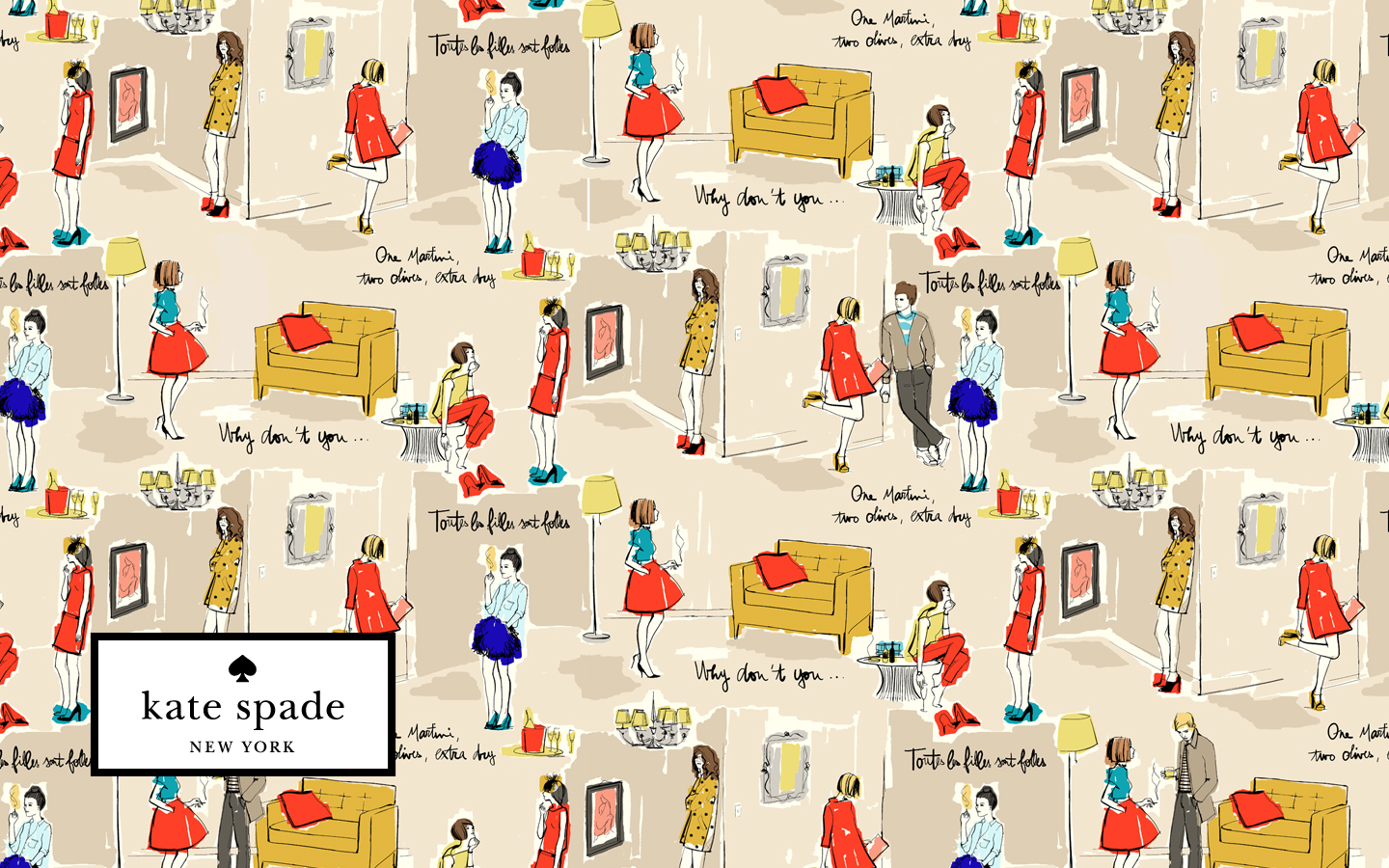 Connu CanadianPrep: Kate Spade Wallpaper PX94