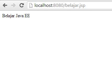 Cara Menjalankan File JSP atau Script Java EE