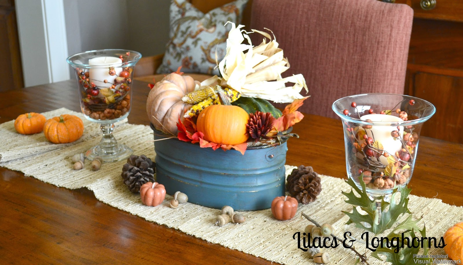 Five Simple Fall Decorating Ideas Lilacs And