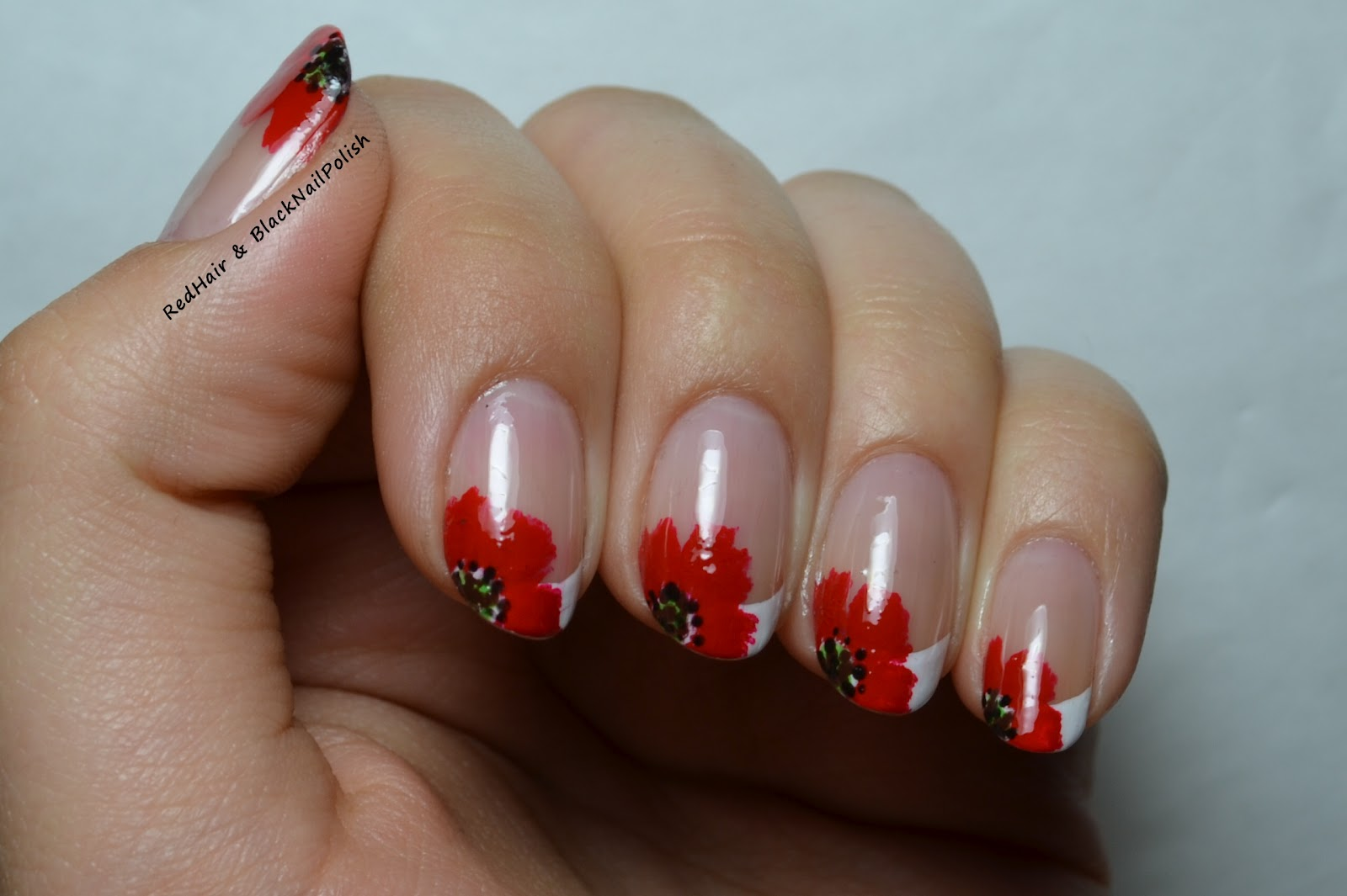 Дизайн ногтей маки фото френч