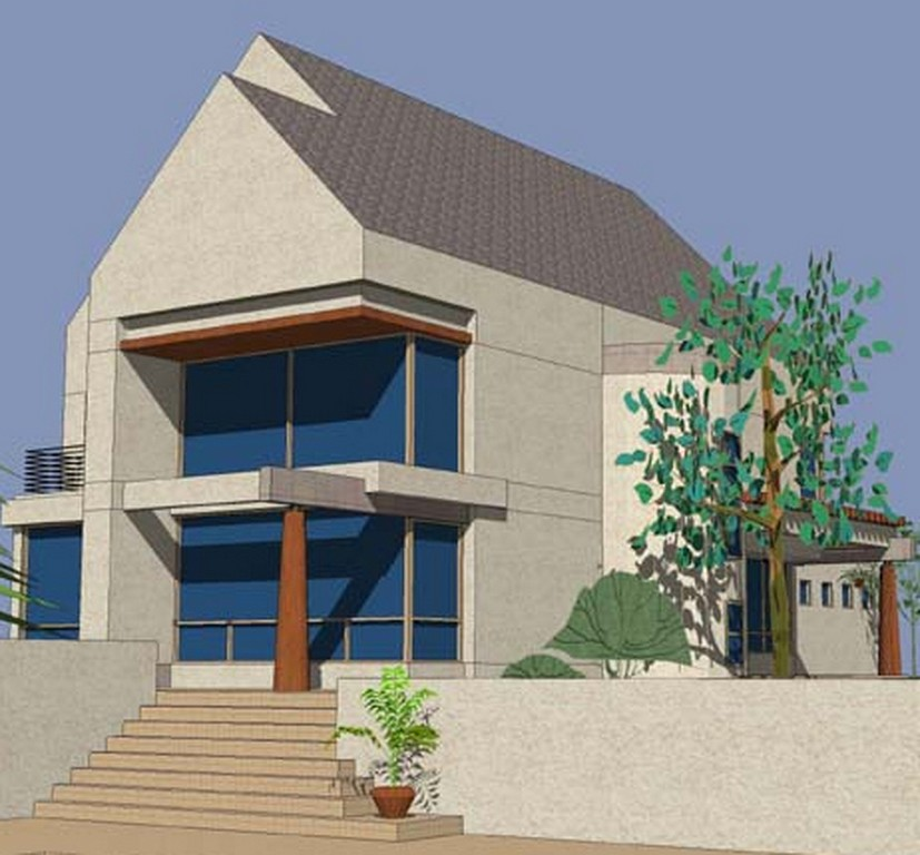 Modern Stylish Homes Front Designs Ideas Technology Homes Green