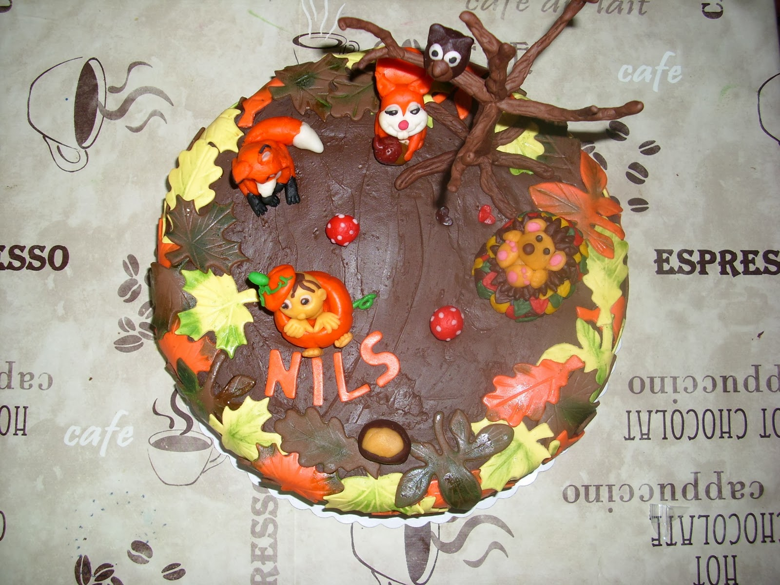 Andrea`s Tortenhobby: Torte Herbst
