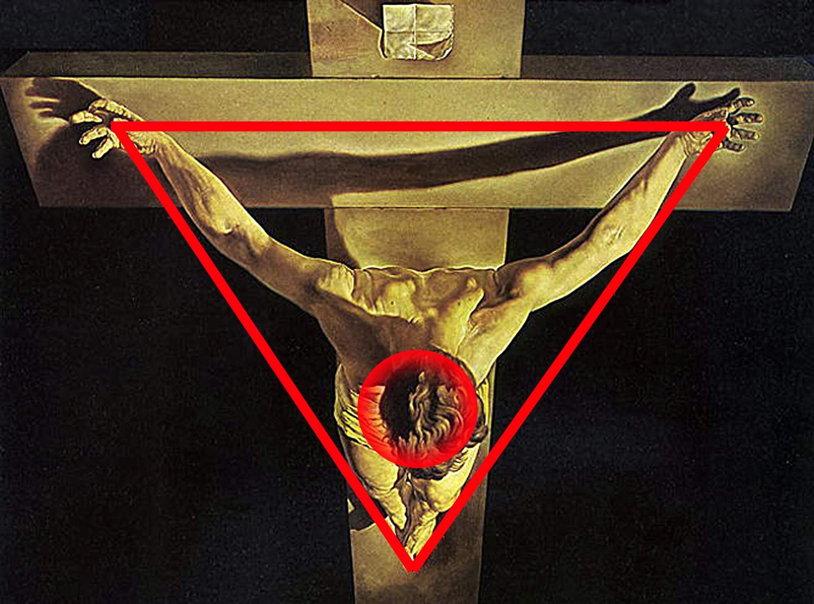 Learn the Flowers: Dali and the beauty of science Jesus On The Cross Painting