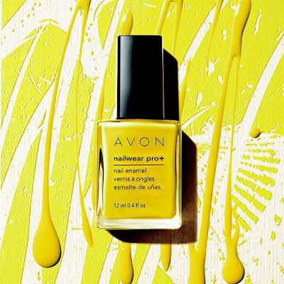 Avon Nail Polish Electric Shades