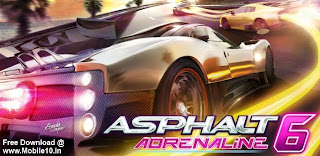 Download Asphalt 6 Adrenaline  Apk Free Full Version - Android Paid Apps For Free - www.mobile10.in