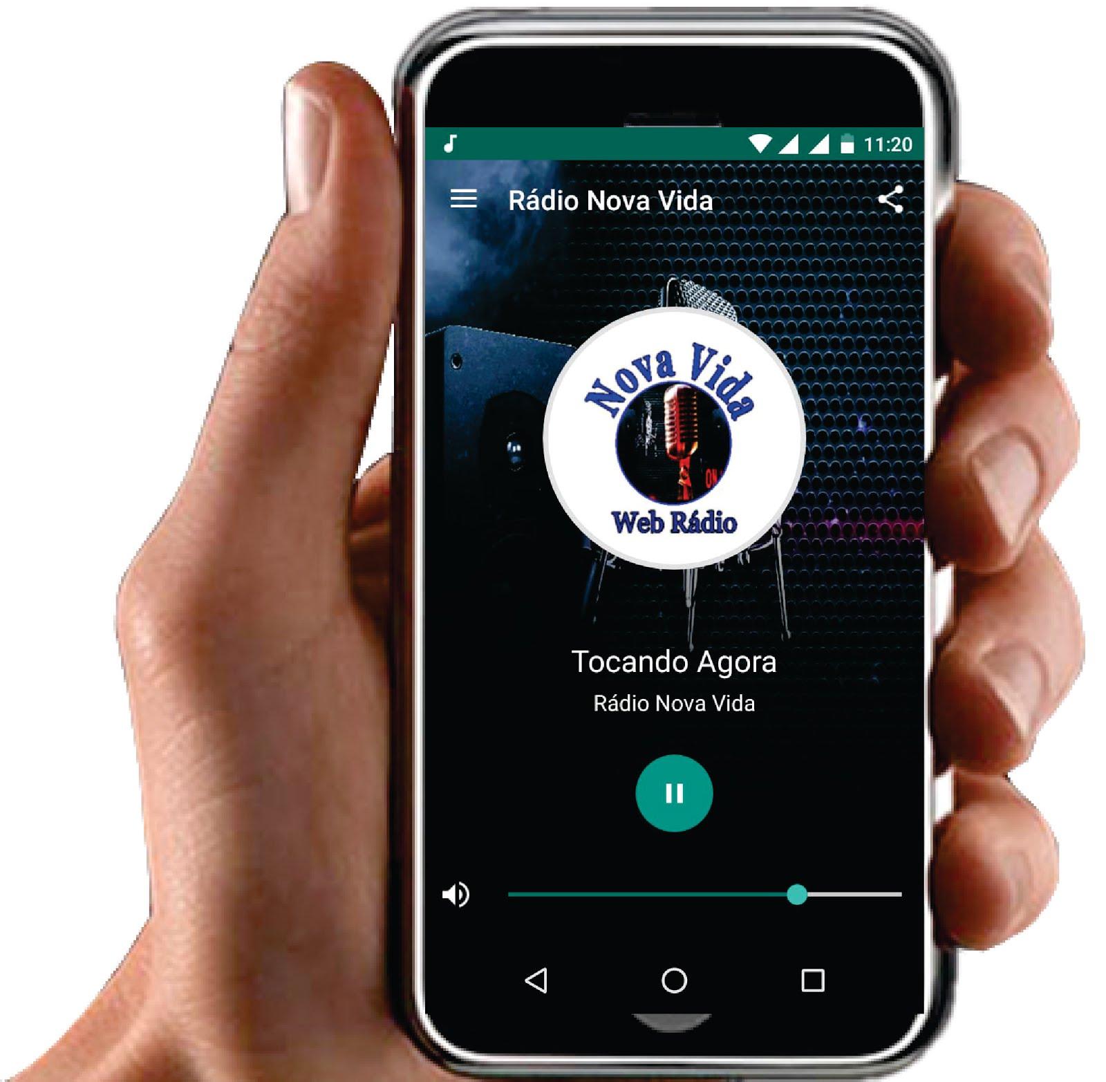 Baixe nosso App. no seu celular.
